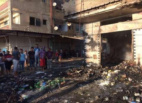 مصرع سائق سقط من أعلى منزله إثر اندلاع النيران به في دهشور
