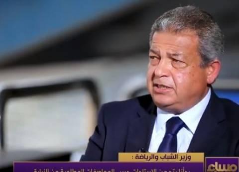 وزير الشباب والرياضة يتناول الإفطار مع الجالية المصرية بالكويت