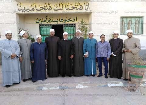 قافلة دعوية من مشيخة الأزهر تزور التجمعات البدوية في جنوب سيناء
