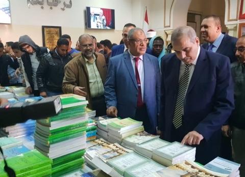احتفالا باليوم العالمي للغة العربية.. جامعة الأزهر تفتتح معرضا للكتاب