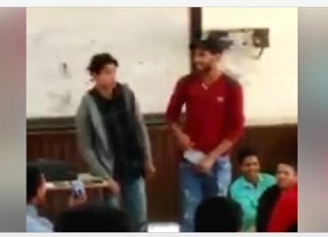 """أول بلاغ يطالب بضبط ومحاكمة أستاذ جامعة الأزهر في واقعة """"خلع البناطيل"""""""