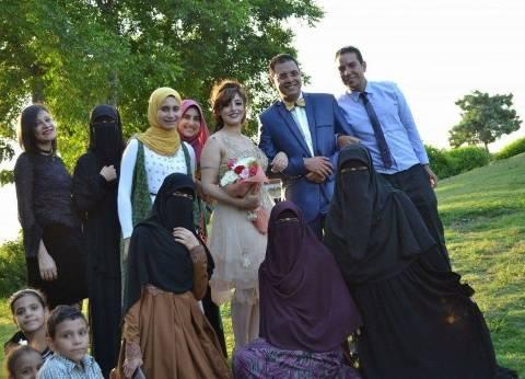 «مش نقاب بس».. أناشيد إسلامية وزغاريد في خطوبة «مارينا» القبطية