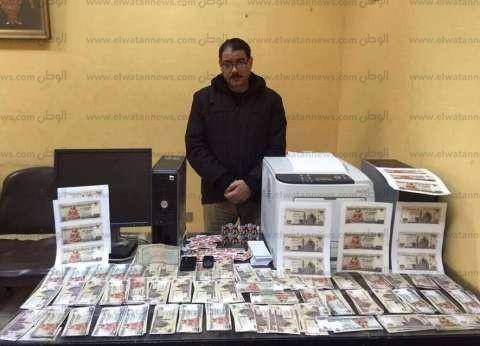 القبض على مهندس بتهمة تزوير العملات في المنوفية
