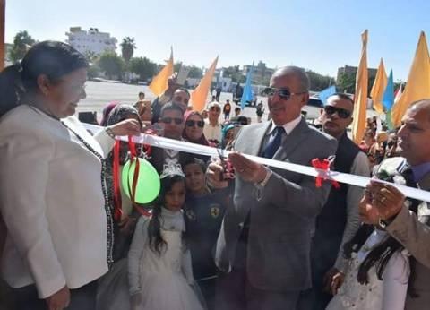 محافظ البحر الأحمر يفتتح مدرسة مصطفى كامل بالغردقة بعد تطويرها