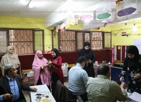 زحام شديد في لجان الانتخابات بمدينة الغردقة