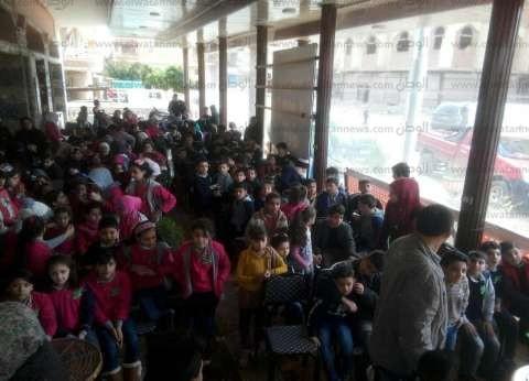 """بالصور  سوريون يحتفلون بيوم التفوق بالدقهلية: """"مصر الأم اللي بتضم"""""""