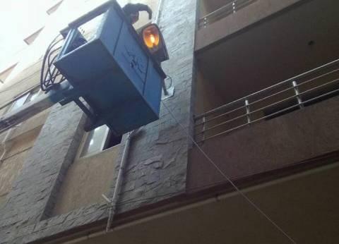 """""""كهرباء حي شرق بالإسكندرية"""" تستكمل أعمال الصيانة بنطاق الحي"""