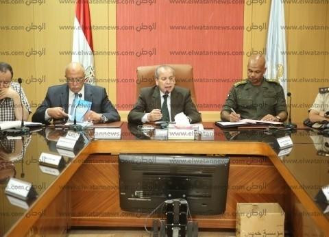"""محافظ كفر الشيخ يستعرض مشروع إدارة الأزمات """"صقر 48"""""""