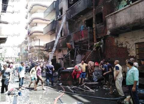 السيطرة على حريق في مطعم بمنطقة ستاد طنطا