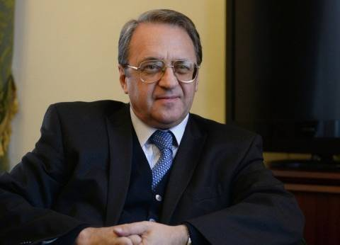 بوجدانوف والسفير الكويتي في روسيا يبحثان العلاقات الثنائية