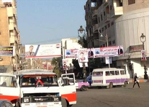 الأجهزة المحلية بالدقهلية تشن حملة لإزالة الدعاية الانتخابية