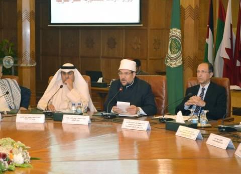 """""""جمعة"""" بجامعة الدول العربية: يد الإرهاب حاولت لقرون طويلة طمس تراثنا"""