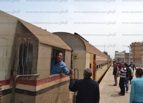 """""""السكة الحديد"""": انتظام حركة القطارات على خط """"القاهرة - السد العالي"""""""