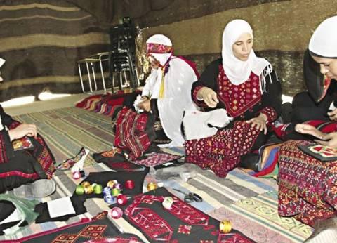 سيدات الشلاتين يحافظن على الصناعات اليدوية: مشغولاتنا من وحى الطبيعة