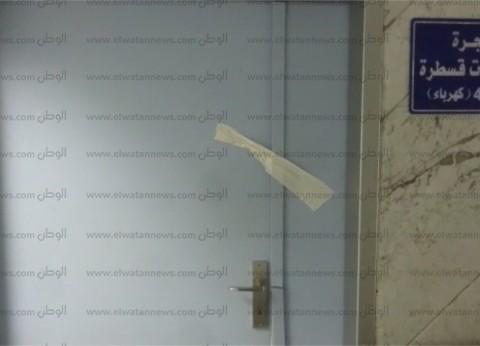 """""""الوطن"""" تنشر أول فيديو من داخل معهد القلب عقب تحطيم إحدى غرف القسطرة"""