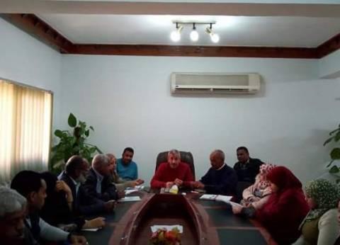 رئيس مدينة القصير يتابع استعدادات الاحتفال بالعيد القوميللبحر الأحمر