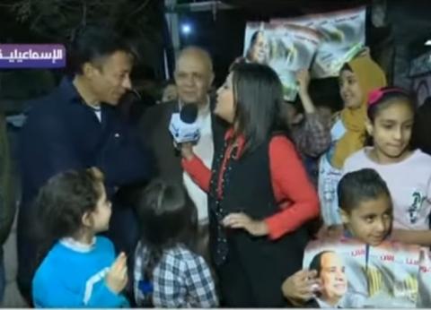 """""""على مسئوليتي"""" يعرض فيديو لاحتشاد المواطنين أمام إحدى لجان الإسماعيلية"""