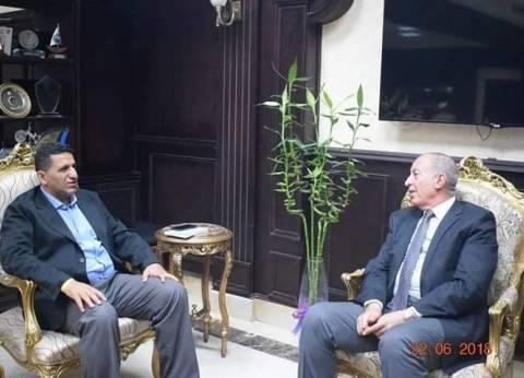 محافظ البحر الأحمر يلتقي سفير مصر في صربيا