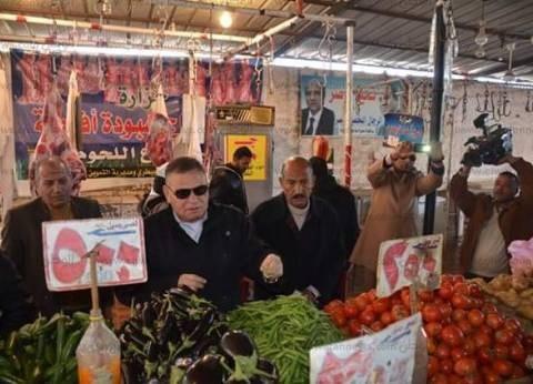 تخفيض أسعار السلع الغذائية بالمعرض الدائم بالإسماعيلية إلى 30%