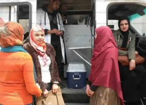 جامعة دمنهور تنظم حملة تبرع بالدم لصالح مصابي تفجيري طنطا والإسكندرية