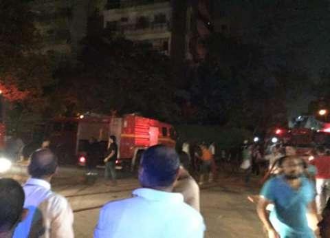 إخماد حريق بسيارة مواد بترولية داخل محطة وقود بميدان الحصري