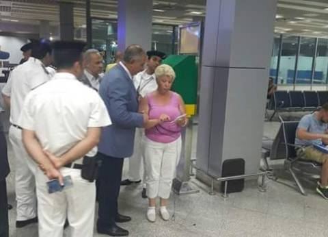 محافظ البحر الأحمر يتفقد مطار الغردقة الدولي