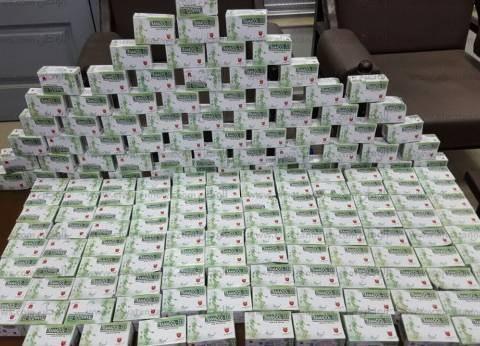 """ضبط سائق بحيازته 30 ألف قرص مخدر في """"الحمام"""" بمطروح"""