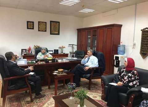 رئيس قطاع التخطيط تبحث مع ممثلي اليونسكو الإعداد لأسبوع القاهرة للمياه
