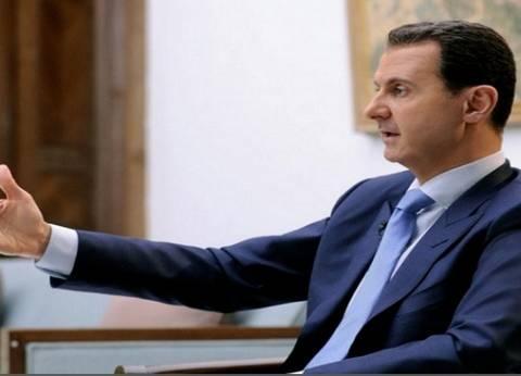 """""""بشار الأسد"""": بعض الحكومات الغربية لا تزال تدعم التنظيمات الإرهابية"""