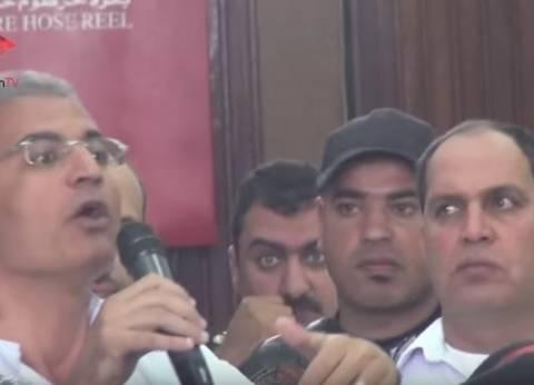 """الحبس سنة لـ""""عصام سلطان"""" بتهمة تعطيل سير الجلسة في """"فض رابعة"""""""