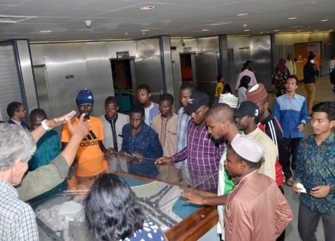 """""""الأوقاف"""" تنظم زيارات للطلاب الوافدين لمعالم الحضارة المصرية"""