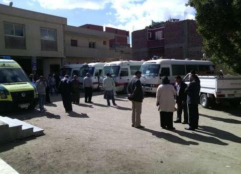 فحص 250 مواطنا في حملة مواجهة فيروس سي بـ3 قرى بالفيوم