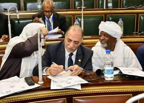 القصبي يناقش قضايا التشريع العربي مع عدد من رؤساء البرلمانات العربية