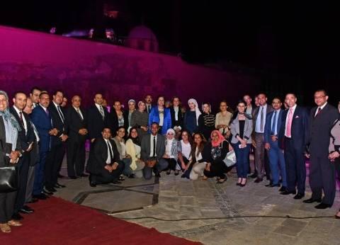 """وزير التخطيط تقيم حفل عشاء لوفد الإمارات المشارك في """"التميز الحكومي"""""""