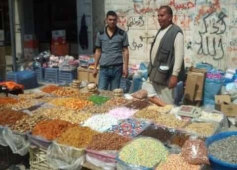 توقف الحركة التجارية في سوق الثلاثاء بالشيخ زويد بسبب الأمطار والمخاوف الأمنية