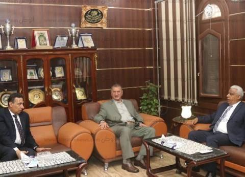 بالصور| محافظ كفر الشيخ ومدير الأمن يبحثان تكثيف الجهود الأمنية