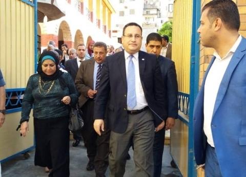 محافظ الإسكندرية: أتوبيس التلاميذ انقلب من أعلى كوبري التاريخ بحي غرب