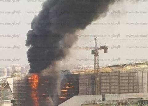 النائب العام: شرر جهاز اللحام وراء حريق المتحف الكبير