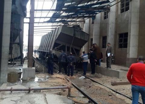 """""""الصحة"""": 3 وفيات و11 مصابا في انهيار داخل صومعة غلال بالإسكندرية"""