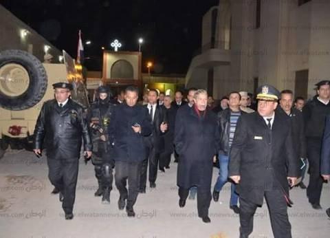 مدير أمن الإسماعيلية: استمرار التعزيزات بالشوارع ومحيط الكنائس