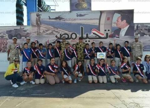 مدارس شرم الشيخ تحتفل مع رجال القوات المسلحة بذكرى نصر أكتوبر