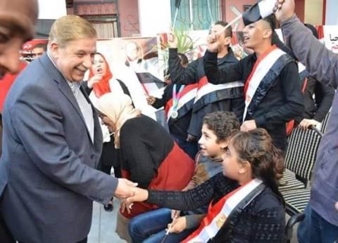 محافظ الإسماعيلية يشهد احتفال المنطقة الأزهرية بذوي الاحتياجات الخاصة