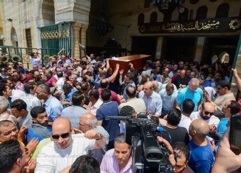 جنازة مهيبة لـ«بنت النيل».. ونجوم مصر يودعونها بالدموع