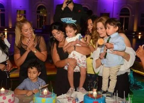 بالصور| ريم البارودي تحتفل بعيد ميلاد شقيقتها الصغرى