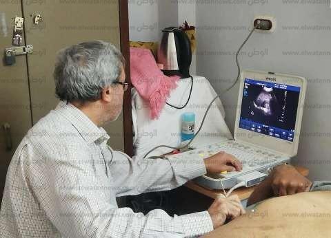 قافلة جامعة الزقازيق الطبية تواصل أعمالها بالبحر الأحمر