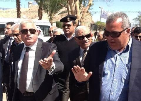 محافظ جنوب سيناء يشكر المقاولون العرب لجهودها لإنجاح منتدى شباب العالم