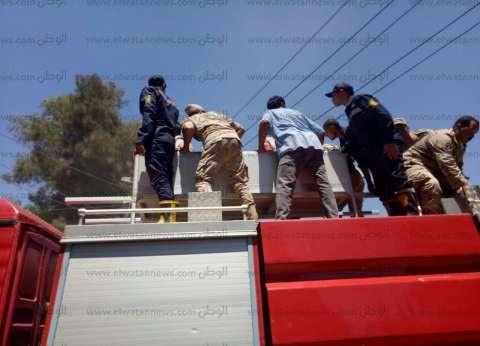 بالصور| أهالي الغربية يشيعون جثمان شهيد سيناء: الجيش والشعب إيد واحدة