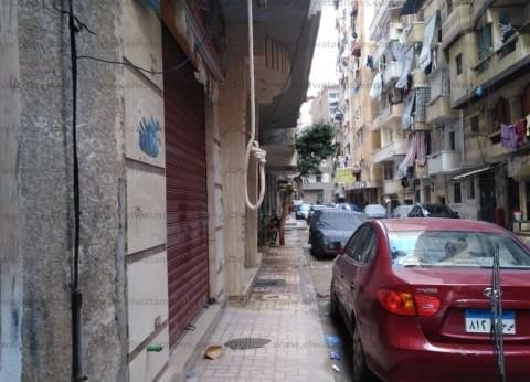"""""""مشنقة"""" بـ""""شرق الإسكندرية"""" تثير الرعب.. وأحد الأهالي: ذات خطاف مفزع"""