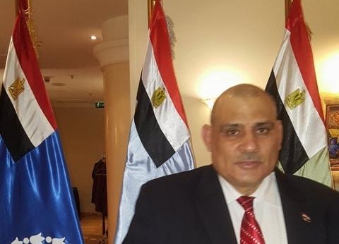 العيسوي: المصريون في روسيا سيشاركون بالاستفتاء رغم بعد المسافات