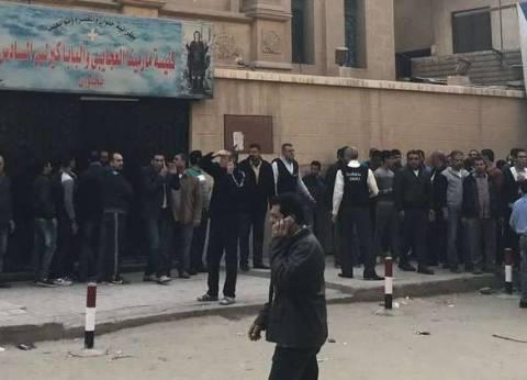 إمام مسجد حلوان: نديت على الناس في الخطبة يروحوا يطمنوا على إخواتهم
